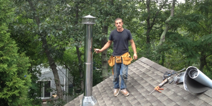 Dual Pipe Chimney