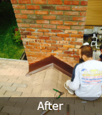 Chimney Cricket Repairs and Installations by Sunrise Roofing & Chimney on Long Island