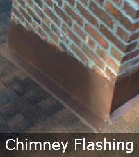 Leak-free chimney by Sunrise Roofing and Chimney in Medford NY