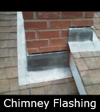 Two Layer Chimney Flashing Project Sunrise Roofing Amp Chimney