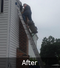 Chimney Rebuild by Sunrise Roofing and Chimney in Lake Ronkonkoma NY