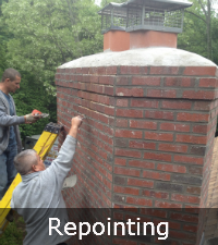 Chimney Repointing on Long Island | Repairing Chimney by Sunrise Roofing and Chimney in Medford, NY