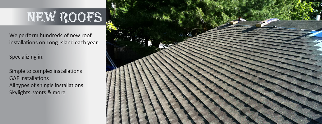 get a new roof installed in nassau or suffolk long island