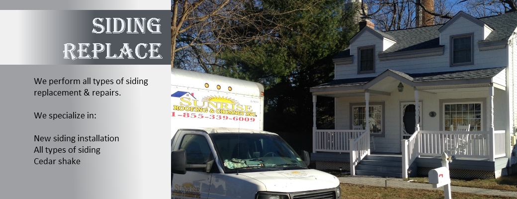 new siding installation on long island