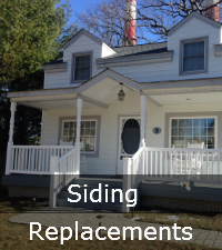 Long Island siding replacement services contractor by Sunrise Roofing and Chimney
