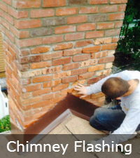Aluminum Chimney Flashing by Sunrise Roofing and Chimney in Long Island NY