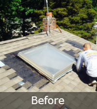 skylight-project-before