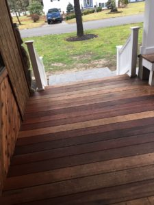 Deck Stair Repair On Long Island | Patio Steps by Sunrise Roofing & Chimney