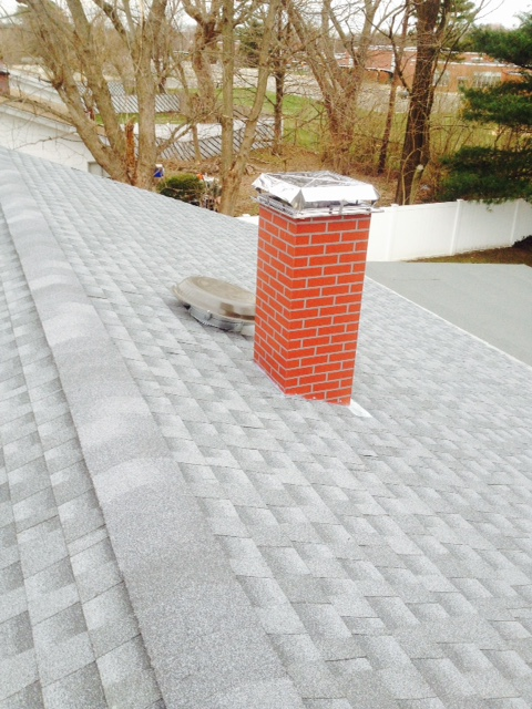 Waterproofing Chimney Masonry by Sunrise Roofing & Chimney Inc. on Long Island