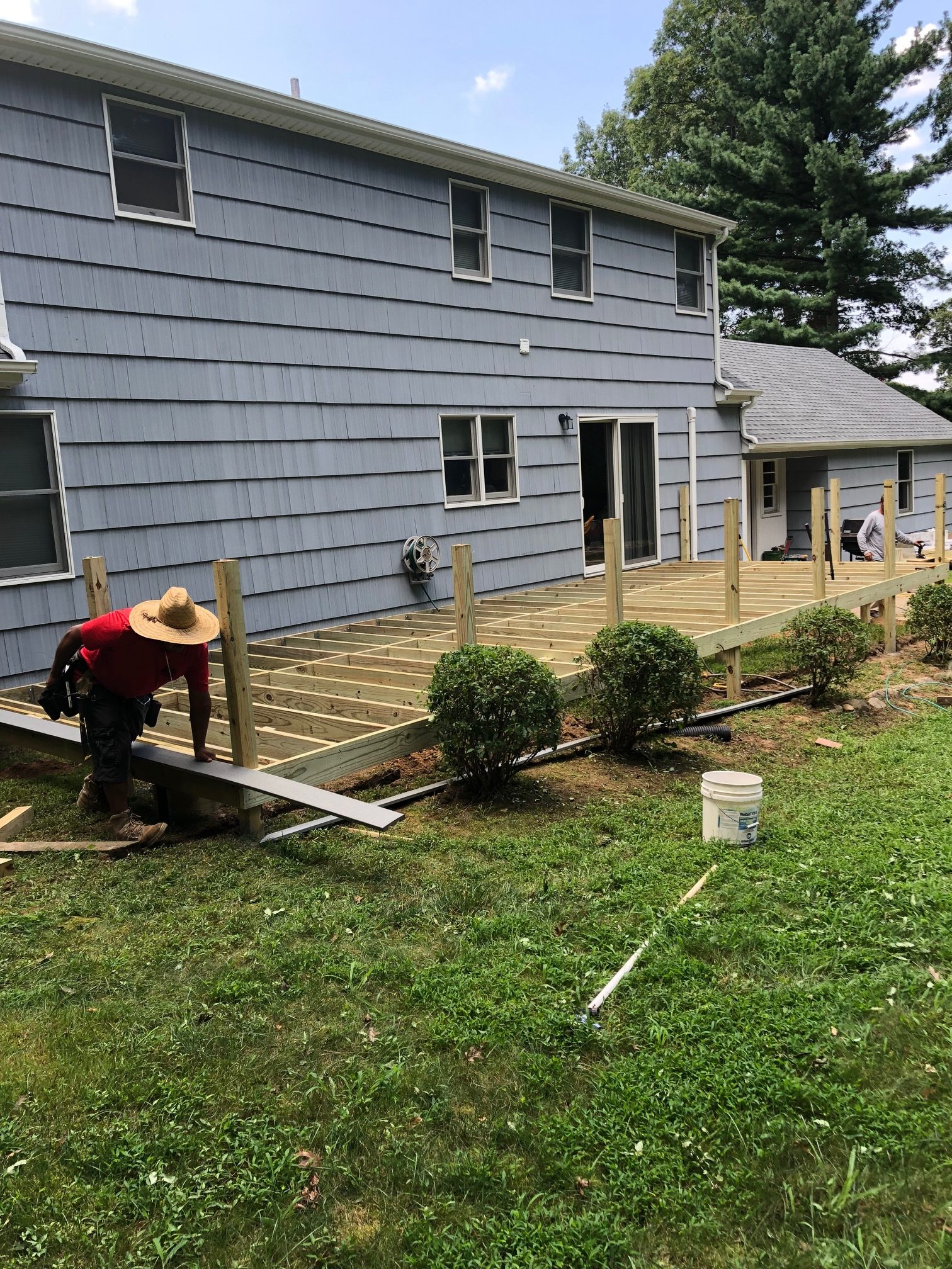 Deck Installation in Hauppauge, NY